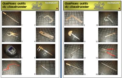 Les outils du chaudronnier