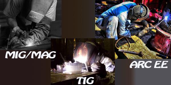 Le soudage MIG/MAG, le TIG et le soudage à l'arc EE