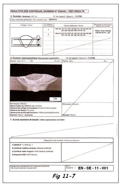 Exemple de Procès Verbal de contrôle de QMOS