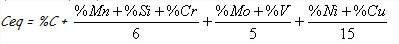 Formule carbone équivalent