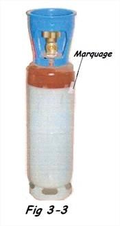 Bouteille de gaz pour chalumeau, acétylène