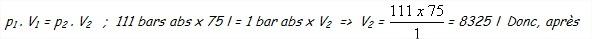 Calcul chalumeau 4