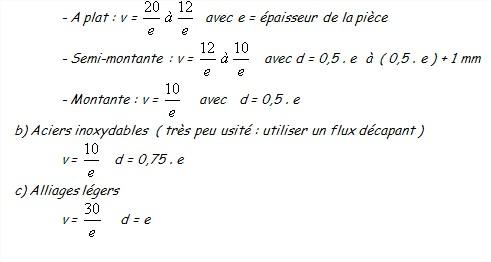 Calcul chalumeau 7