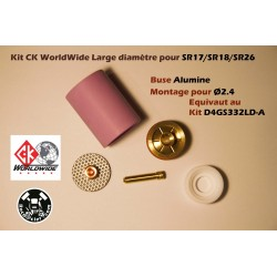Kit Alumine CK Worldwide...