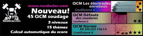 QCM soudage