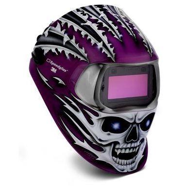 3M  Speedglas TM  Série 100 Raging skull