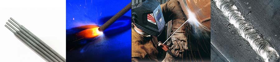 Image electrode enrobée et soudeur à la baguette