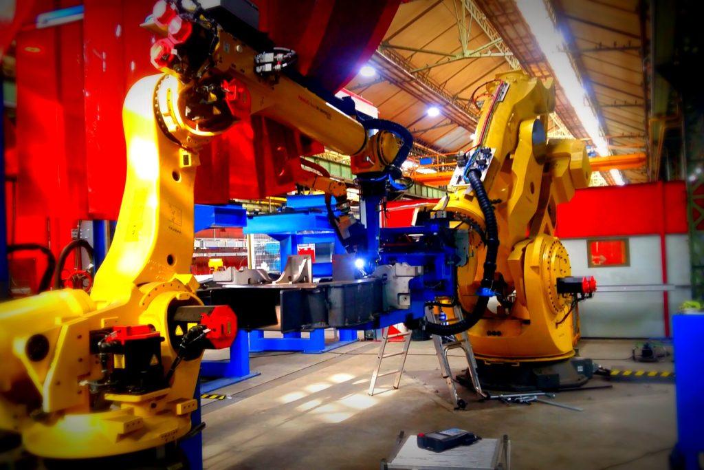 Robot soudage Alstom
