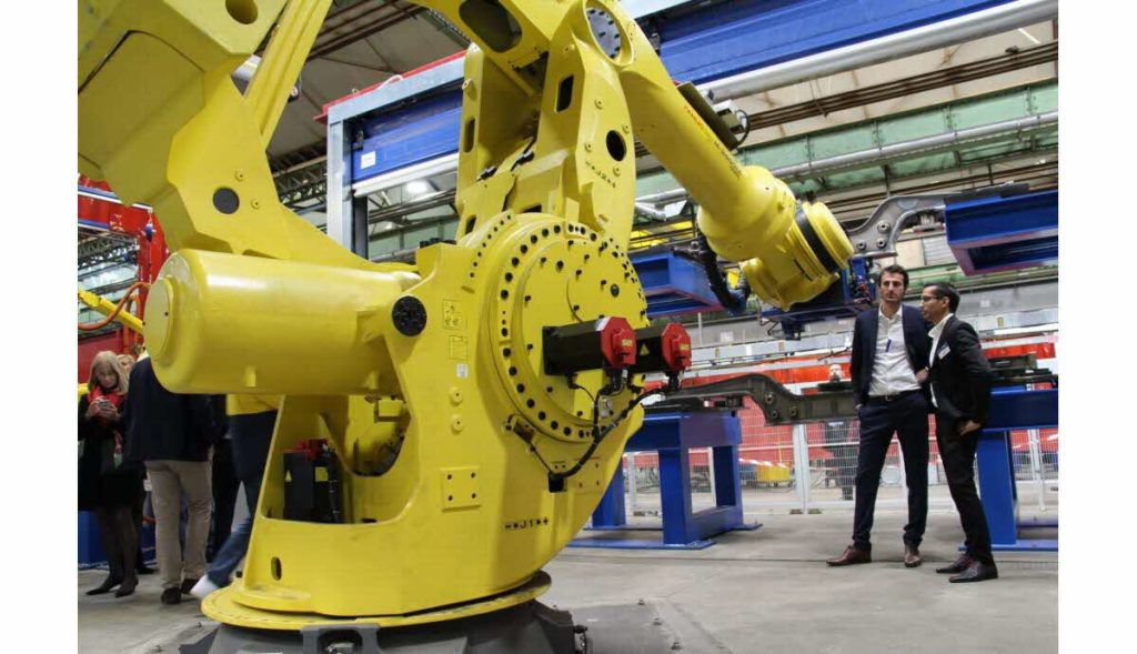 Robot de soudage Alstom 2