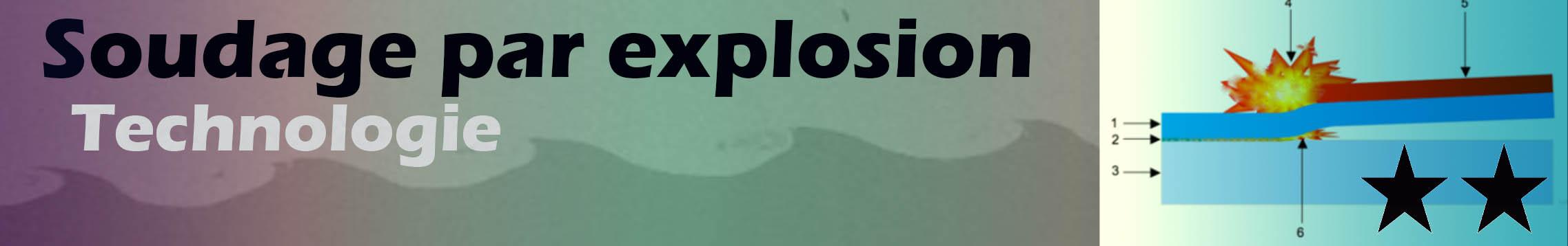 Soudage par explosion