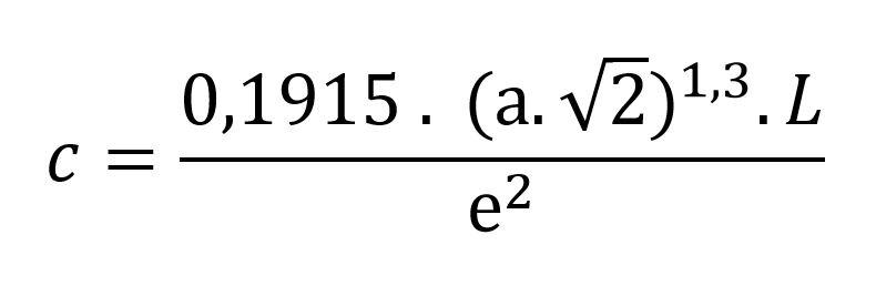 Formule de Blodgett