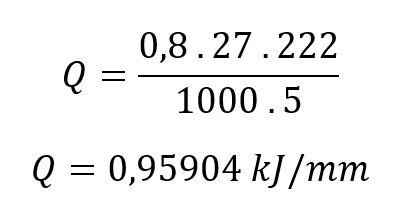 Calcul de l'apport de chaleur