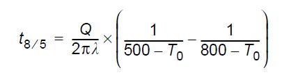 Calcul du temps de refroidissement 1