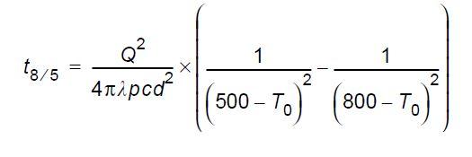 Calcul du temps de refroidissement 2