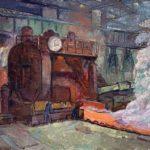 Les peintures des Usines du Creusot par Raymond Rochette